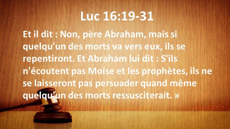 Luc 16:19-31