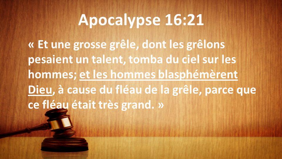 Apocalypse 16:21