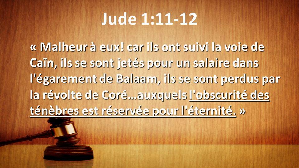 Jude 1:11-12