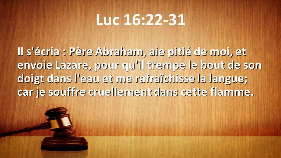 Luc 16:22-31