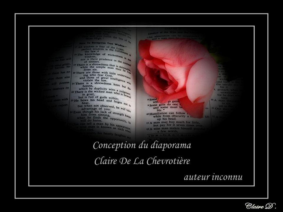 Conception du diaporama Claire De La Chevrotière auteur inconnu