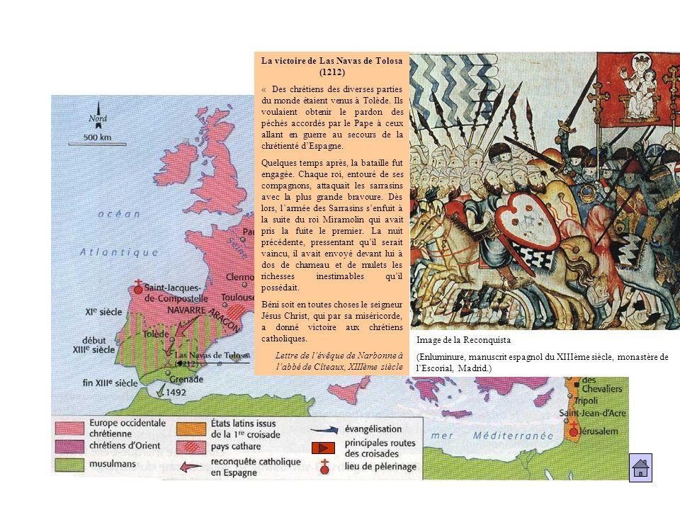 La victoire de Las Navas de Tolosa (1212)