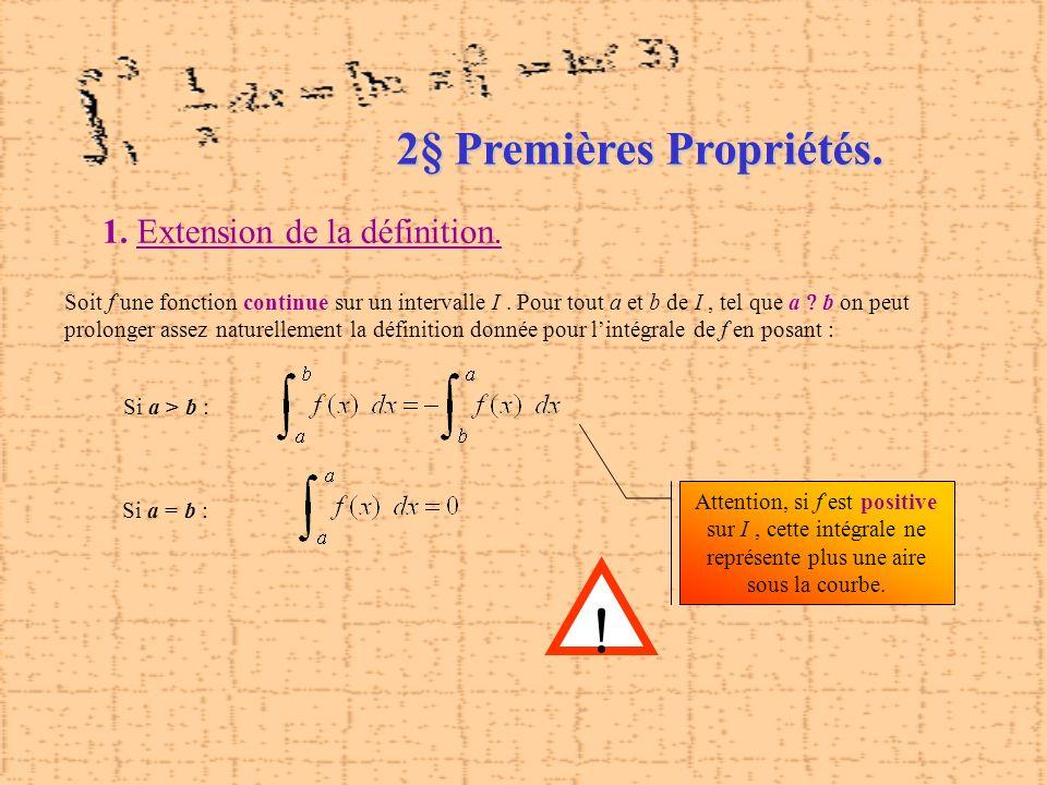 2§ Premières Propriétés.
