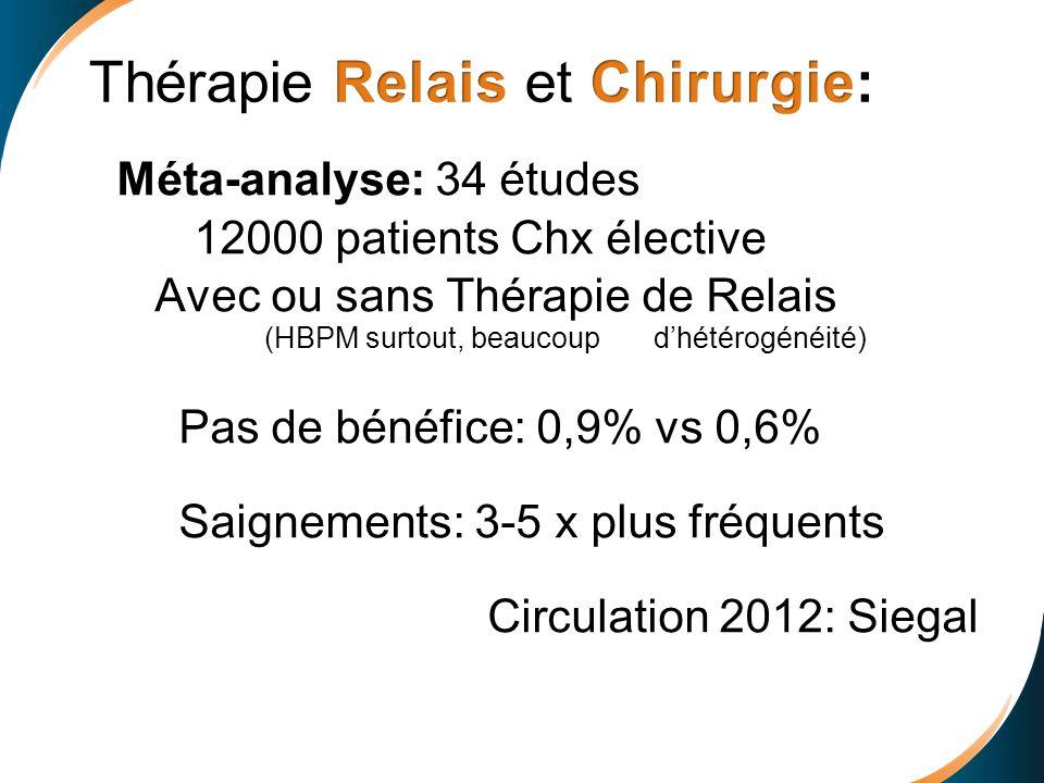 Thérapie Relais et Chirurgie: