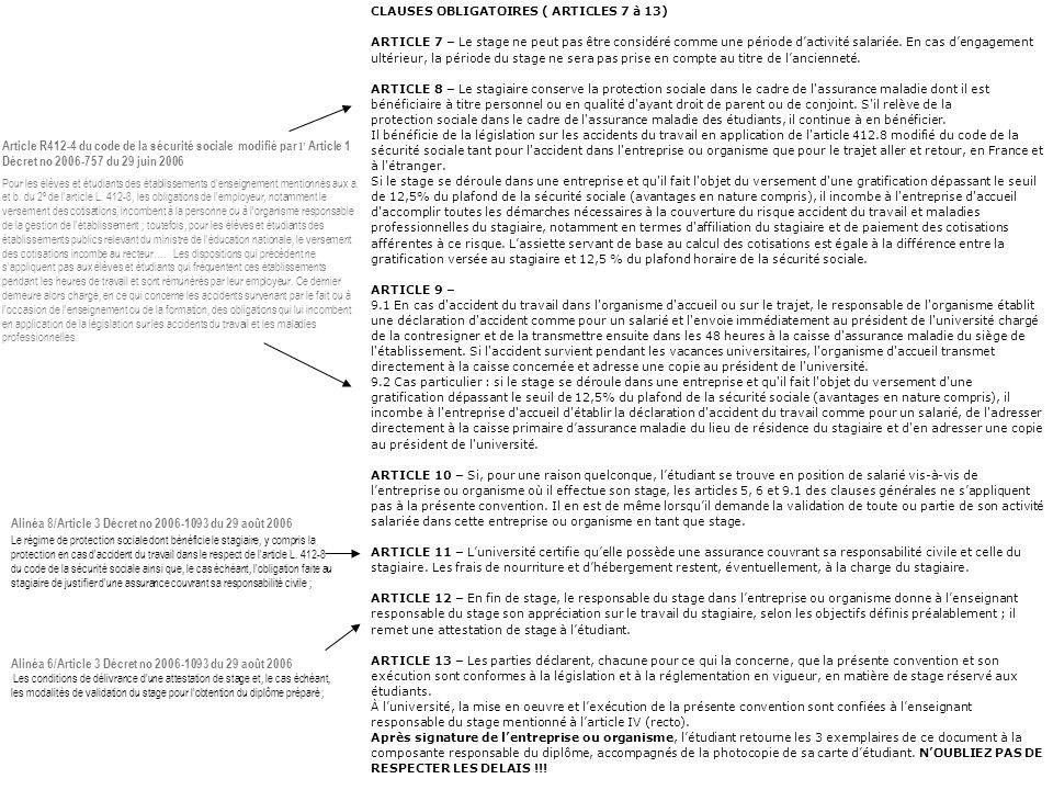 Alinéa 8/Article 3 Décret no 2006-1093 du 29 août 2006