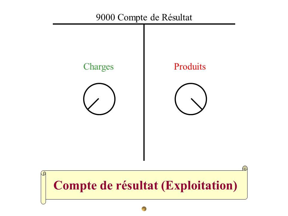 Compte de résultat (Exploitation)