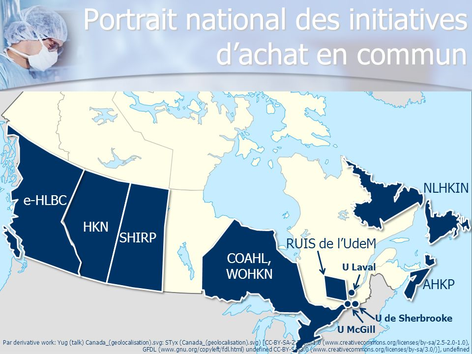 Portrait national des initiatives d'achat en commun
