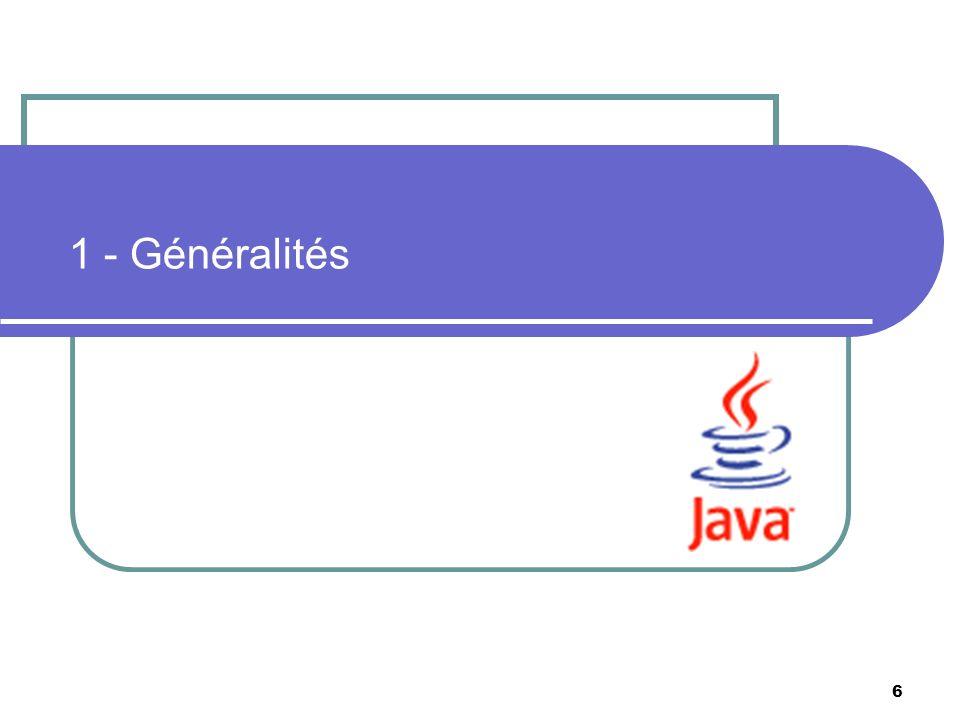 1 - Généralités M. Lai, Penser Objet avec UML et Java, Masson - InterEdition, 1998