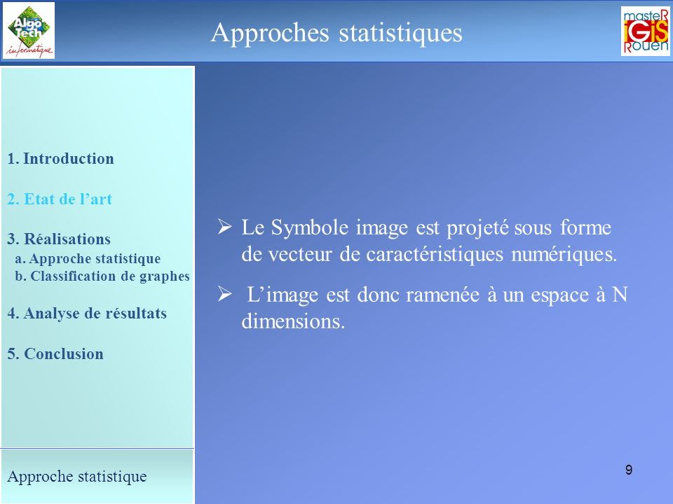 Approches statistiques