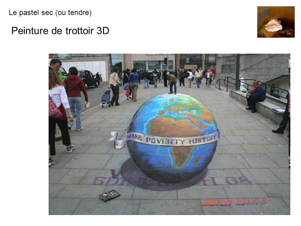 Peinture de trottoir 3D