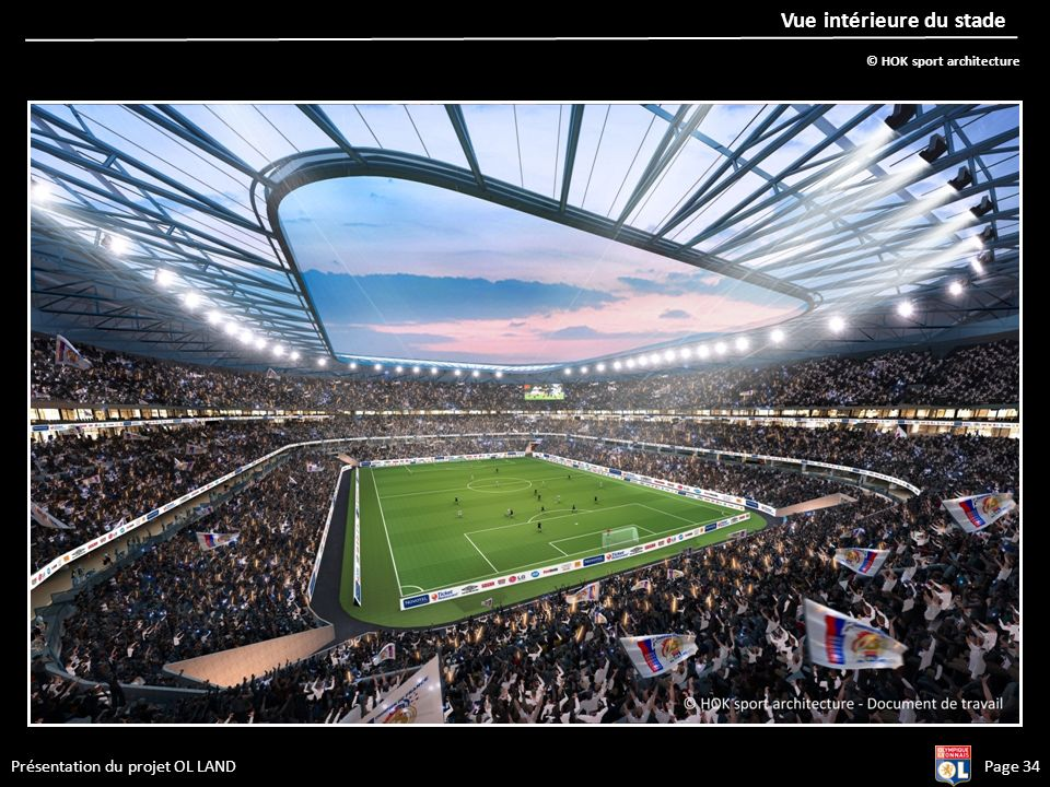 Vue intérieure du stade