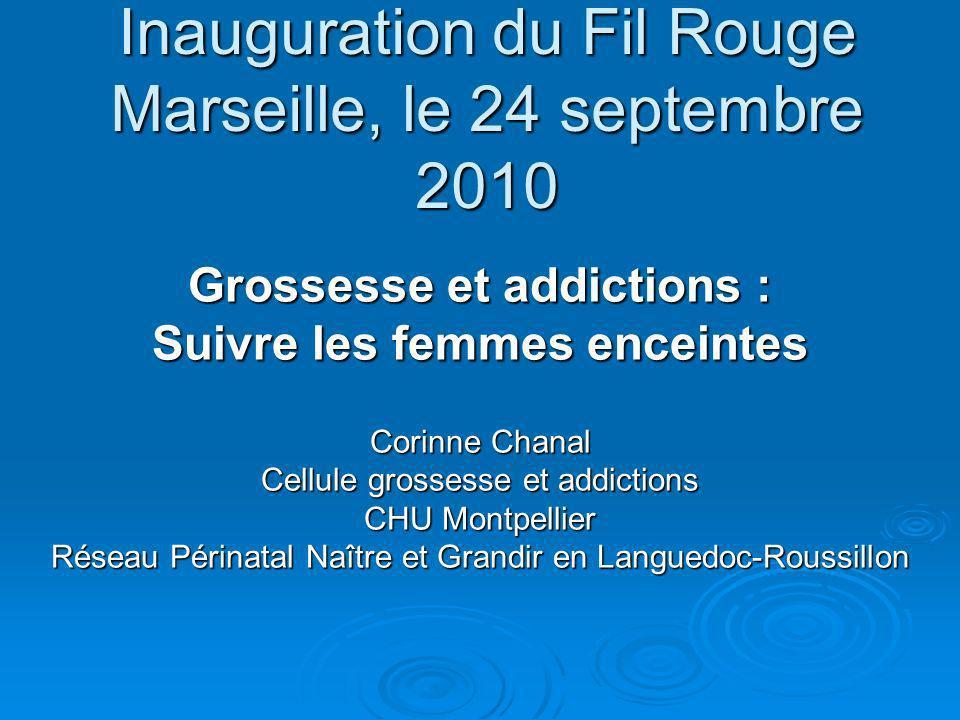 Inauguration du Fil Rouge Marseille, le 24 septembre 2010
