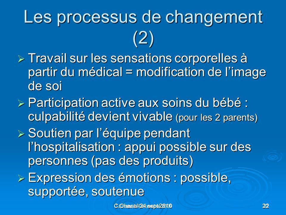 Les processus de changement (2)