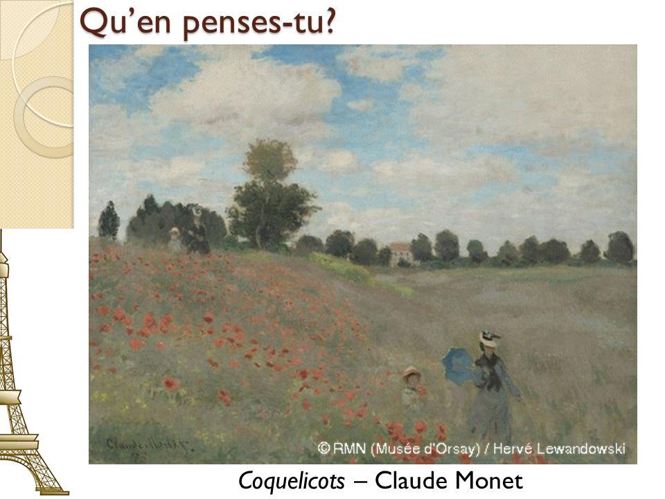 Coquelicots – Claude Monet