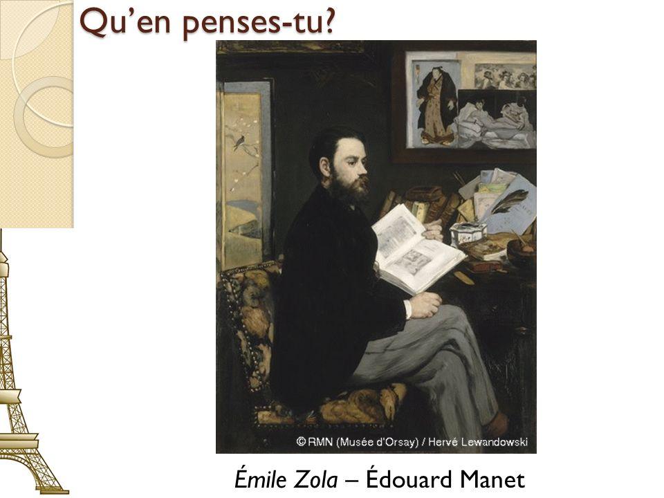 Émile Zola – Édouard Manet