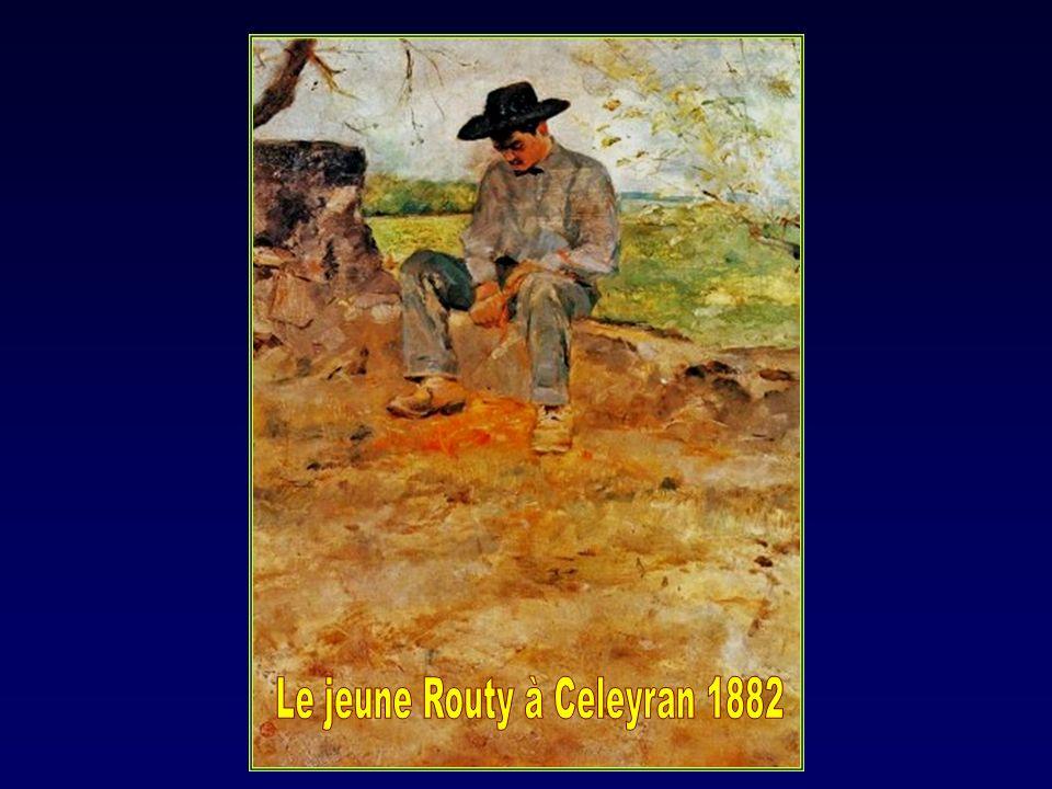 Le jeune Routy à Celeyran 1882