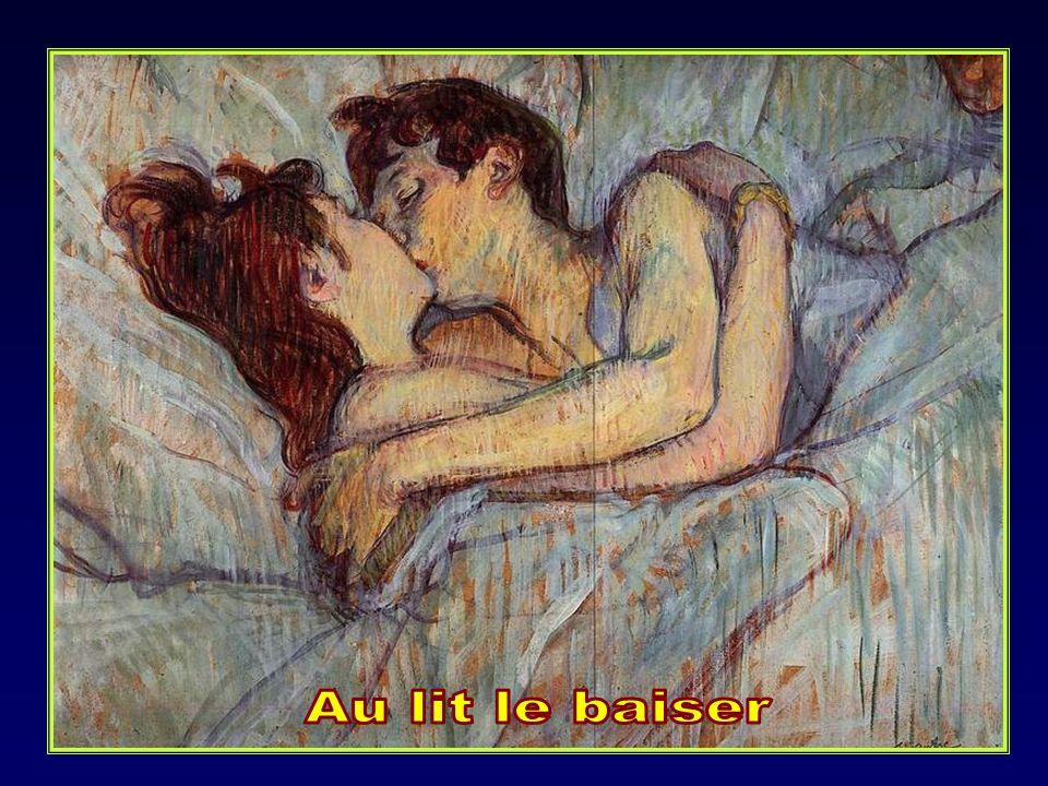 Au lit le baiser