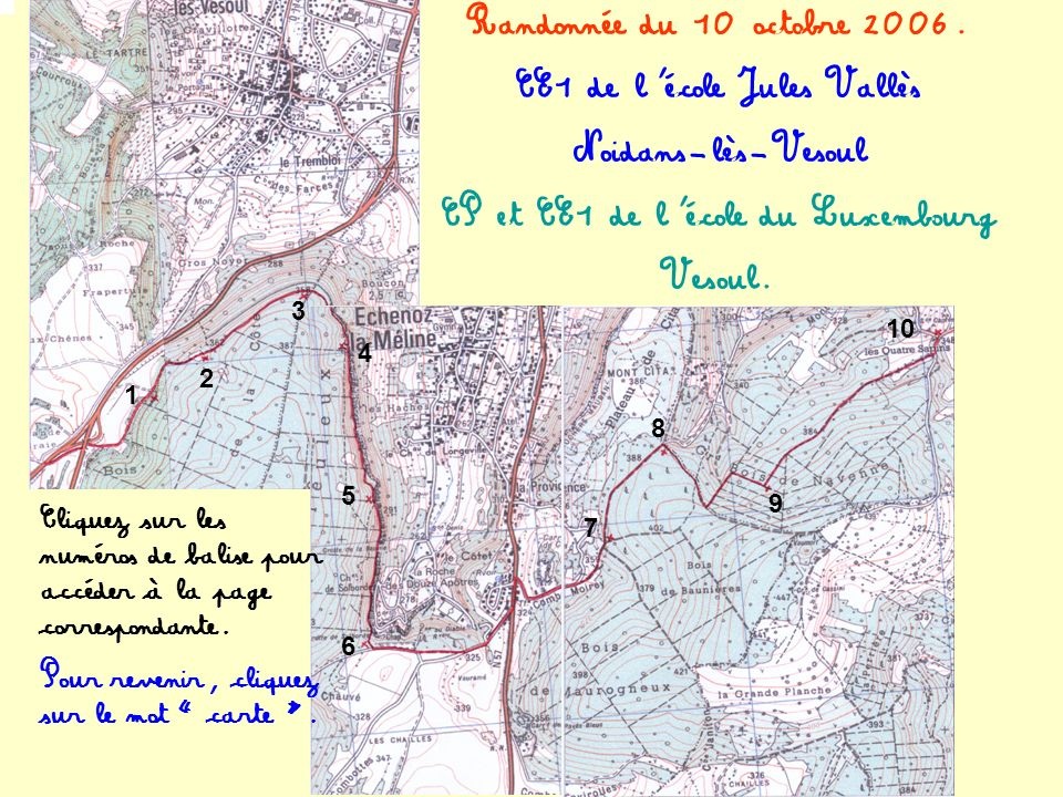 CE1 de l'école Jules Vallès CP et CE1 de l'école du Luxembourg