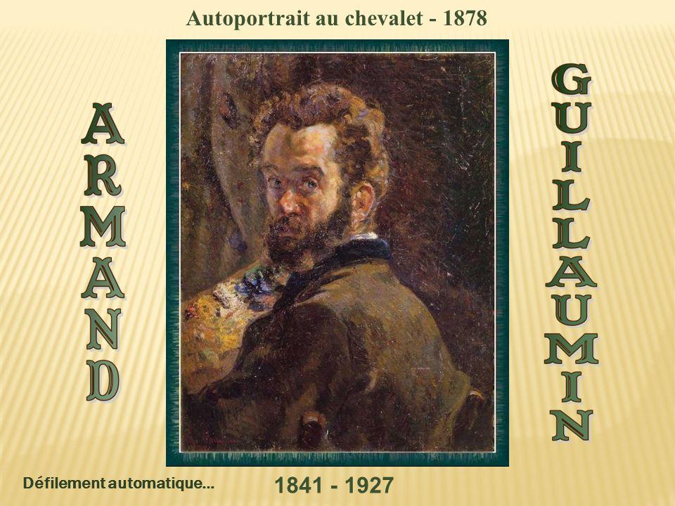 Autoportrait au chevalet - 1878