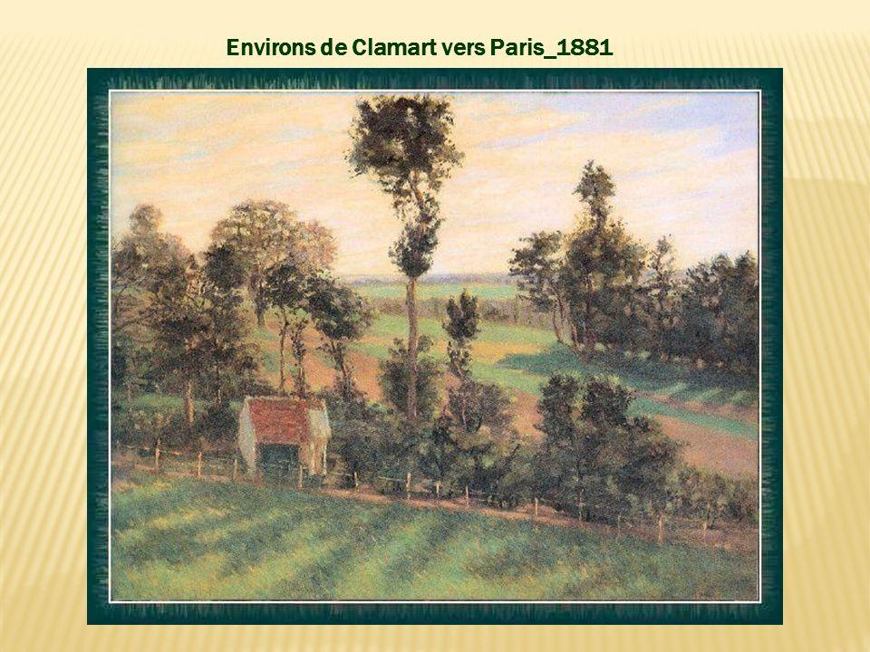 Environs de Clamart vers Paris_1881