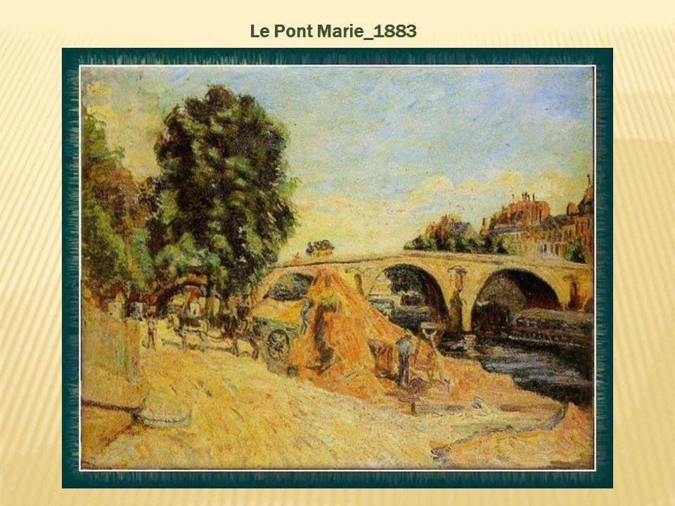 Le Pont Marie_1883