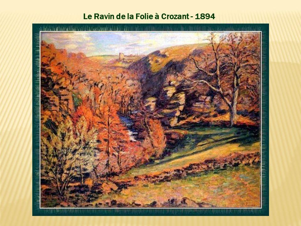 Le Ravin de la Folie à Crozant - 1894