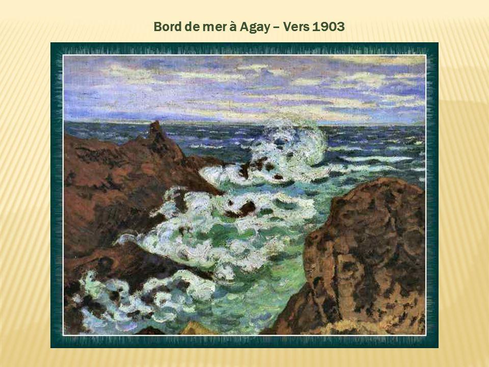 Bord de mer à Agay – Vers 1903