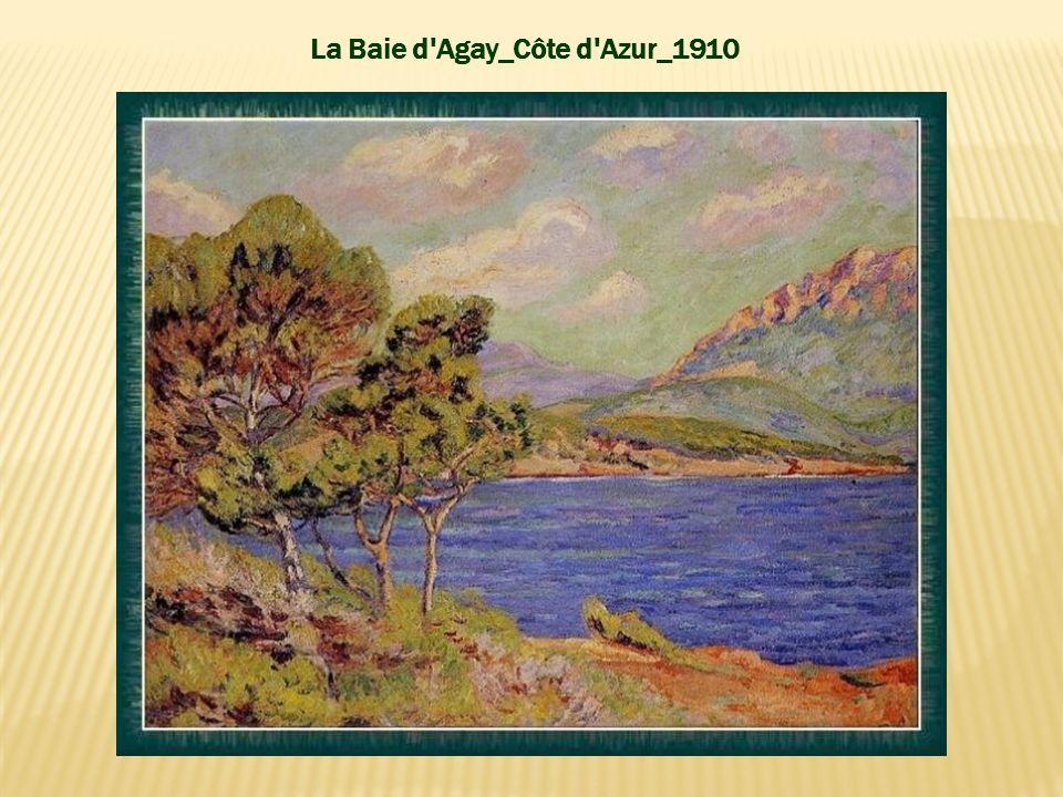 La Baie d Agay_Côte d Azur_1910