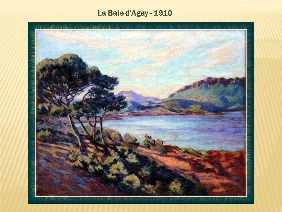 La Baie d Agay - 1910
