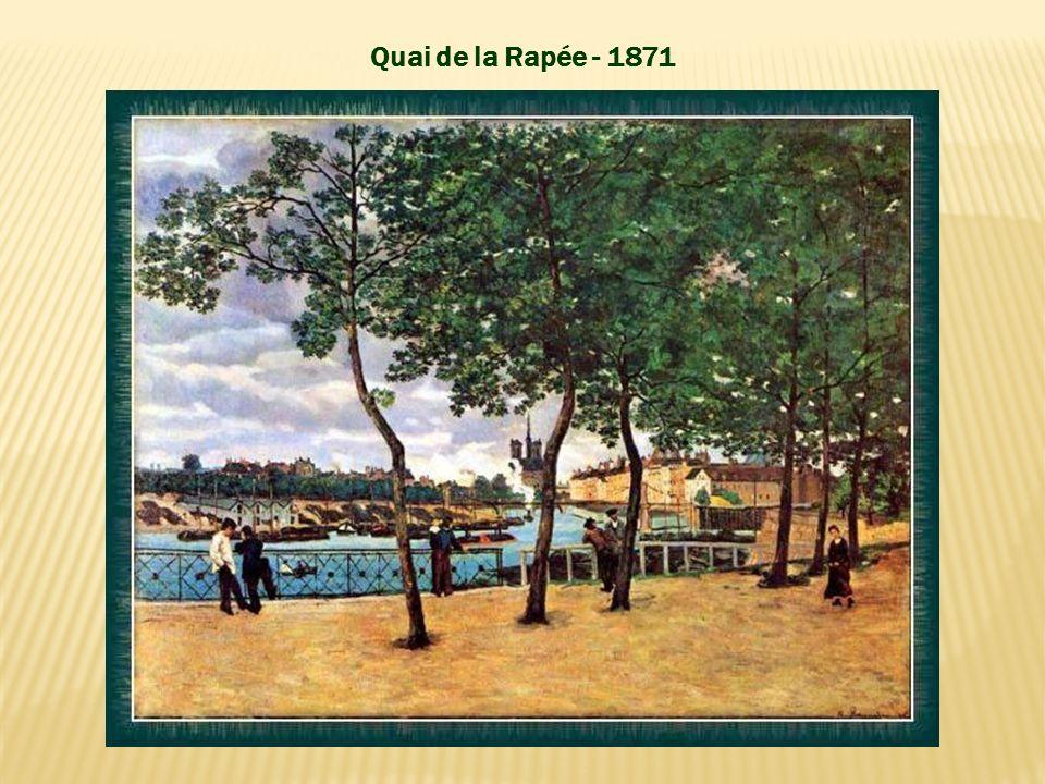 Quai de la Rapée - 1871 Quai de la Rapée - 1871