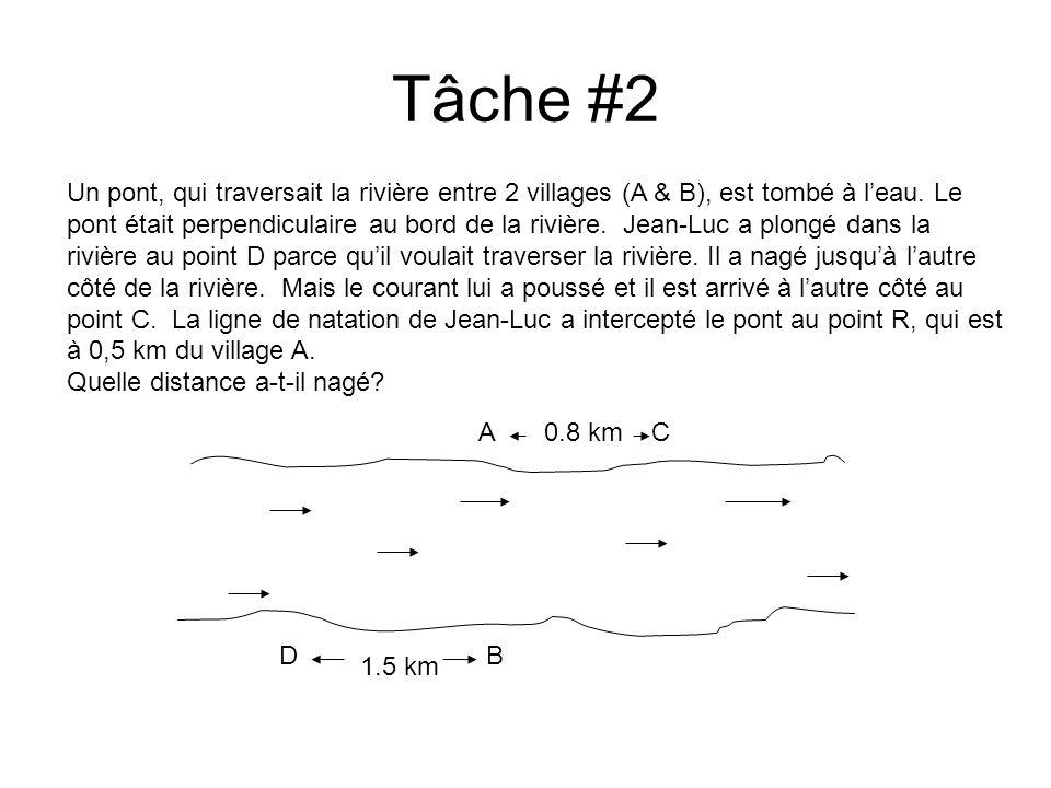 Tâche #2
