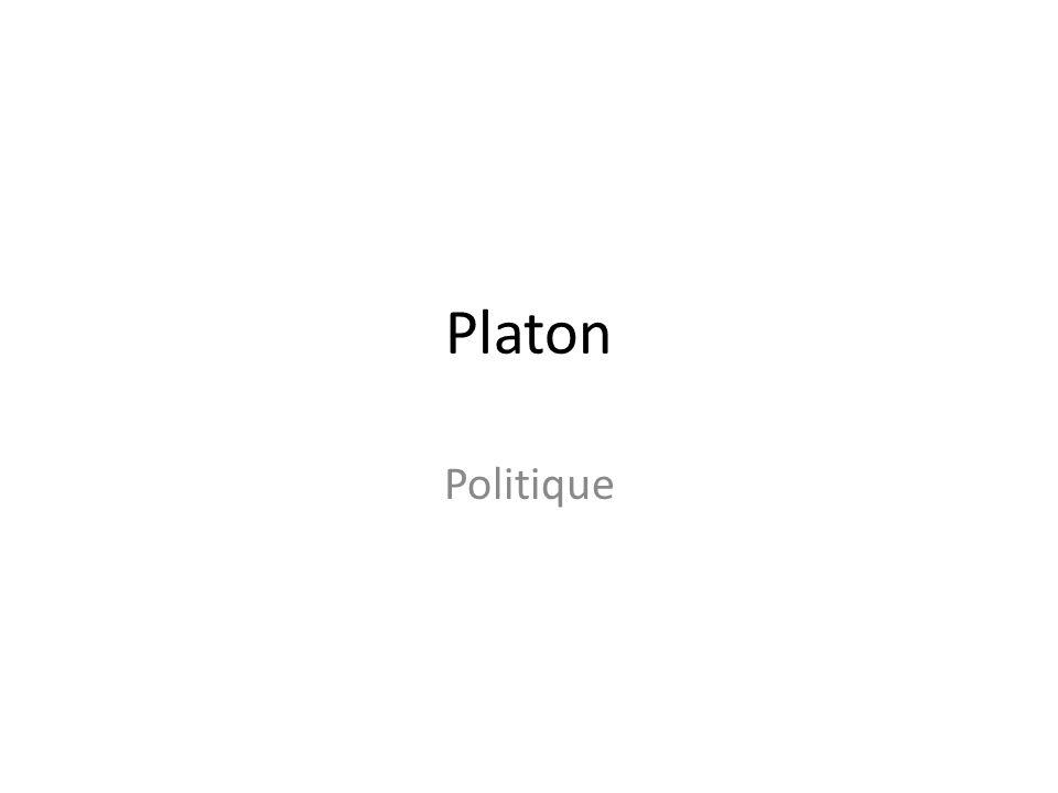 Platon Politique