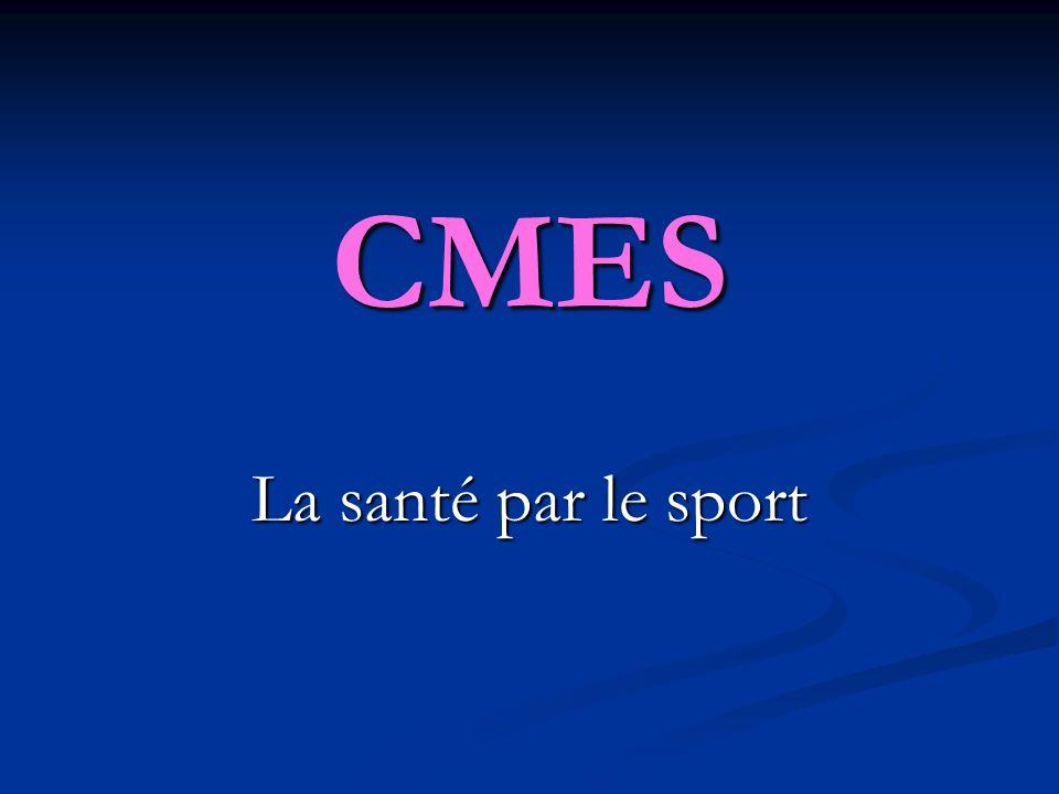 CMES La santé par le sport 1