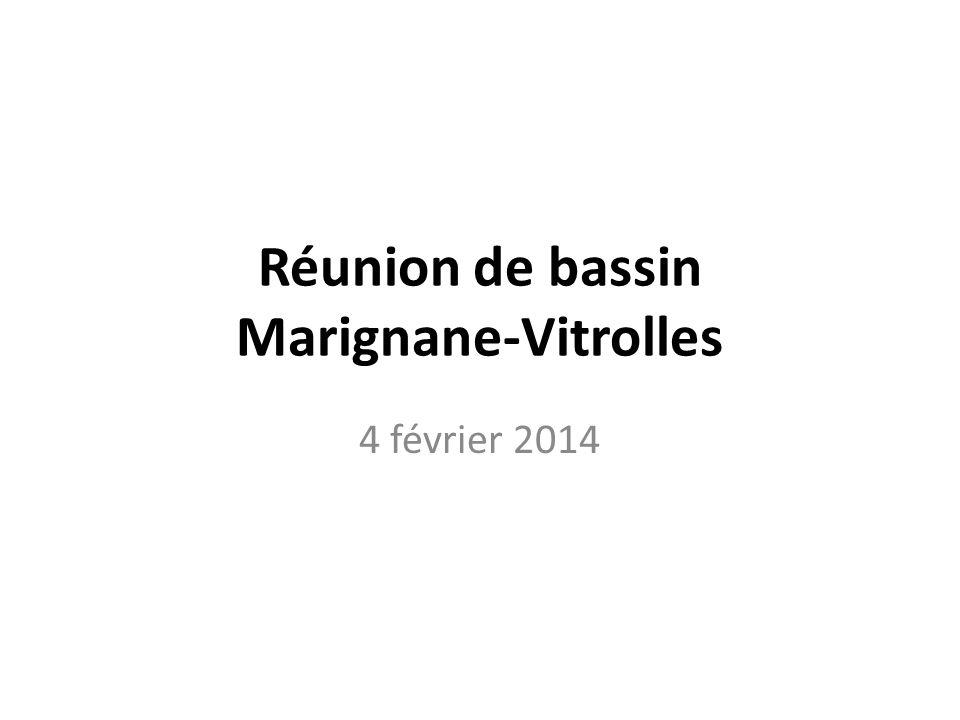 Réunion de bassin Marignane-Vitrolles