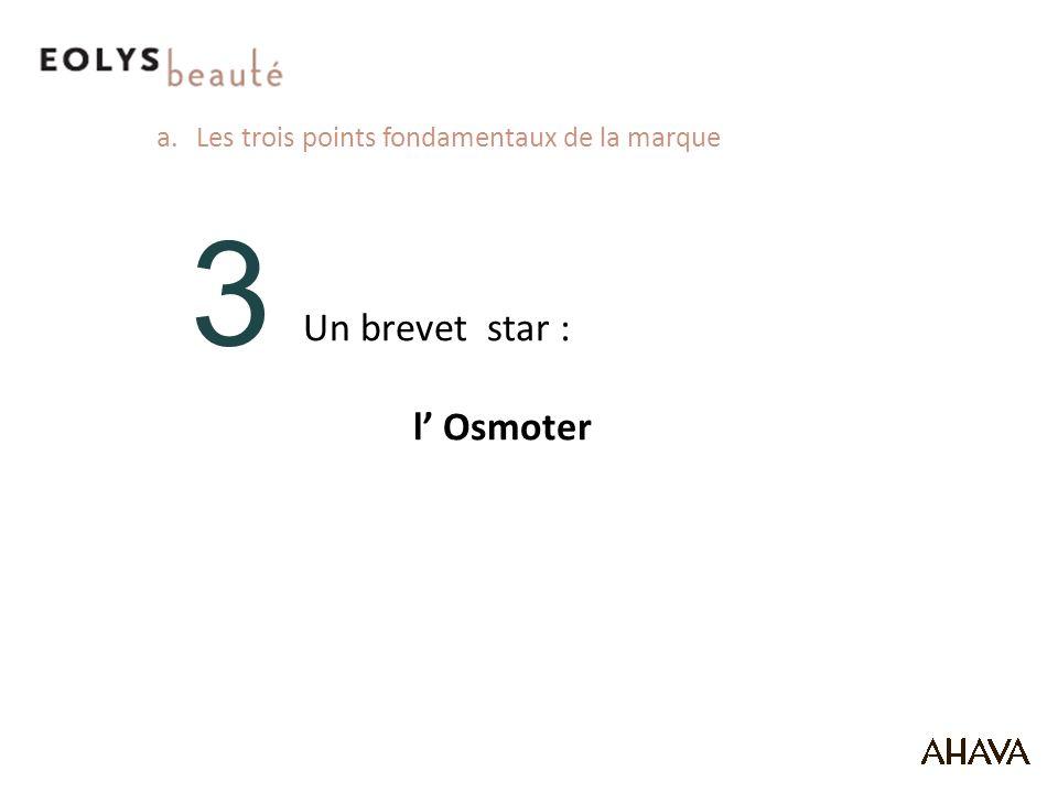 3 Un brevet star : l' Osmoter