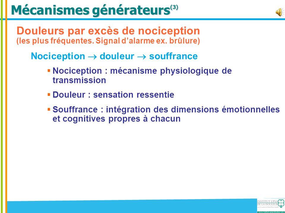 Mécanismes générateurs(3)