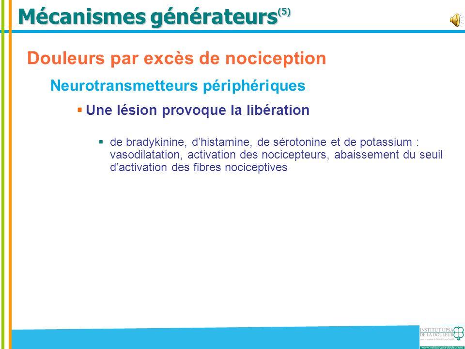Mécanismes générateurs(5)