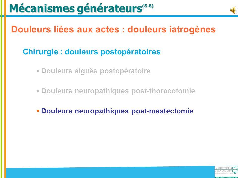 Mécanismes générateurs(5-6)