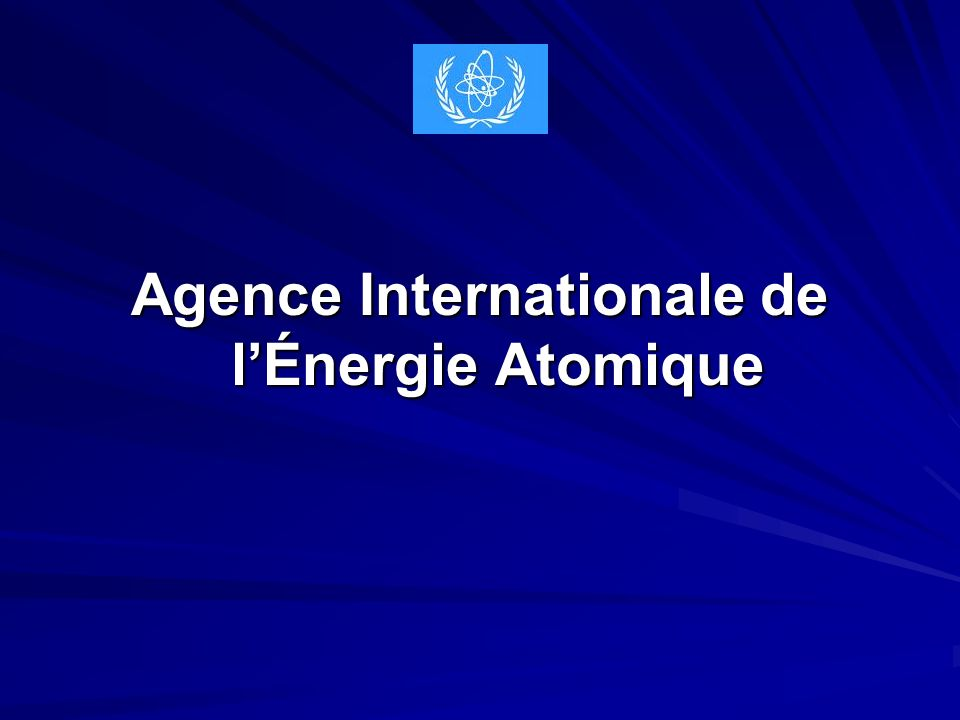 Agence Internationale de l'Énergie Atomique