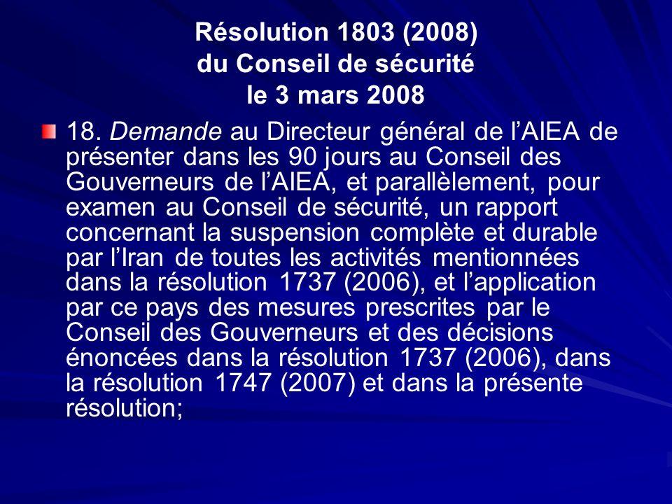Résolution 1803 (2008) du Conseil de sécurité le 3 mars 2008
