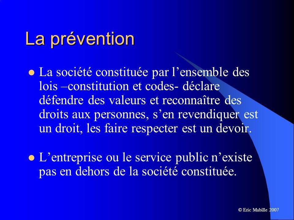 La prévention
