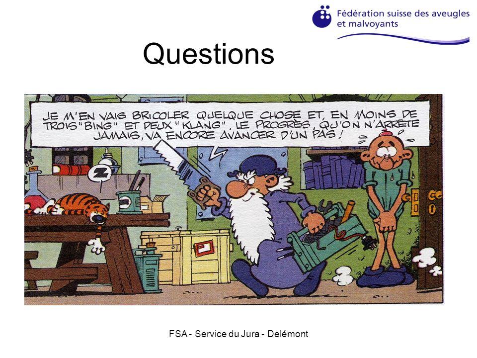 FSA - Service du Jura - Delémont