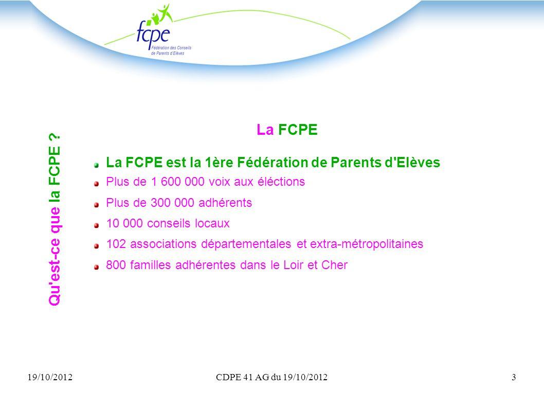 La FCPE Qu est-ce que la FCPE