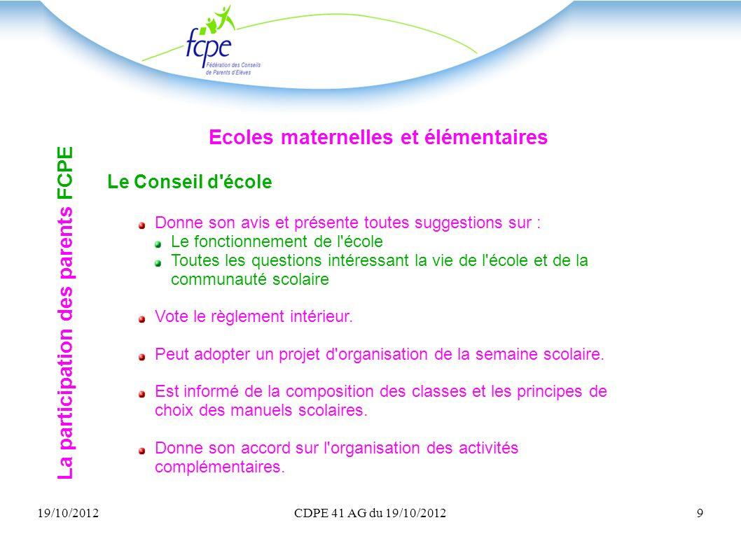 Ecoles maternelles et élémentaires