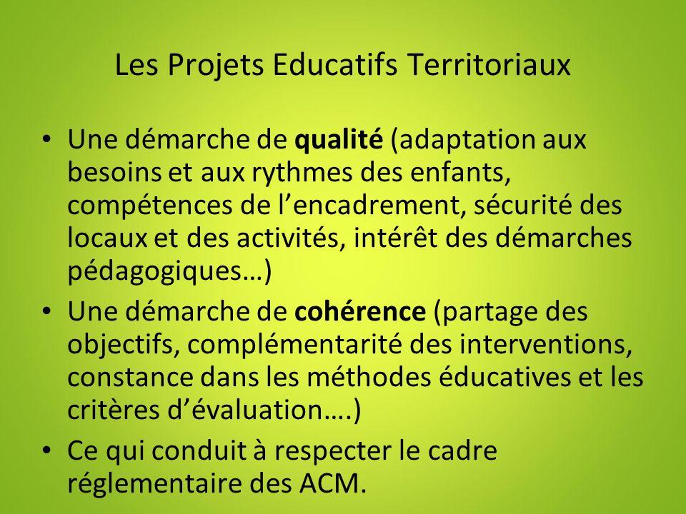 Les Projets Educatifs Territoriaux