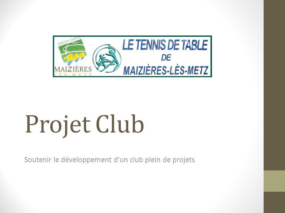 Soutenir le développement d'un club plein de projets