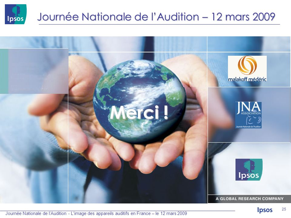 Journée Nationale de l'Audition – 12 mars 2009