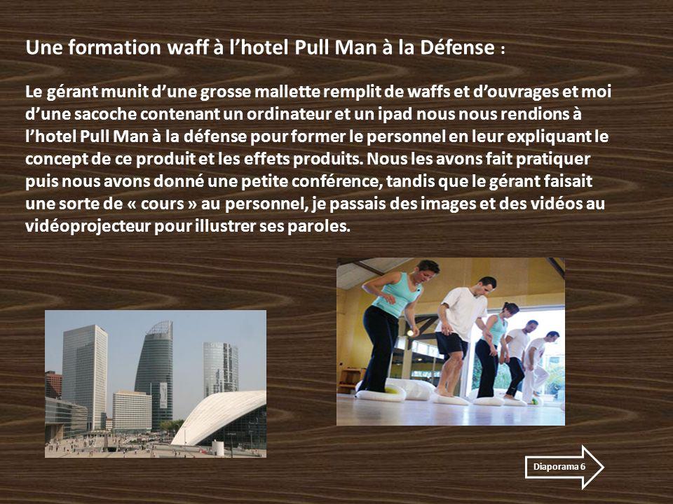 Une formation waff à l'hotel Pull Man à la Défense :