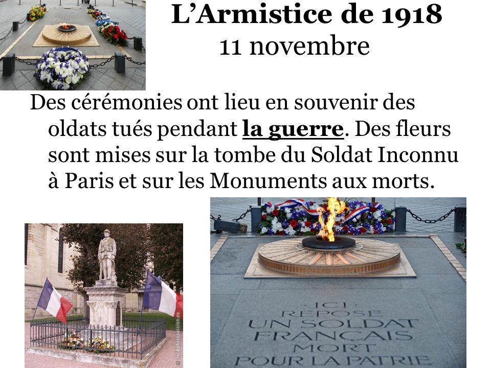 L'Armistice de 1918 11 novembre