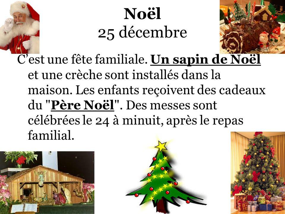 Noël 25 décembre
